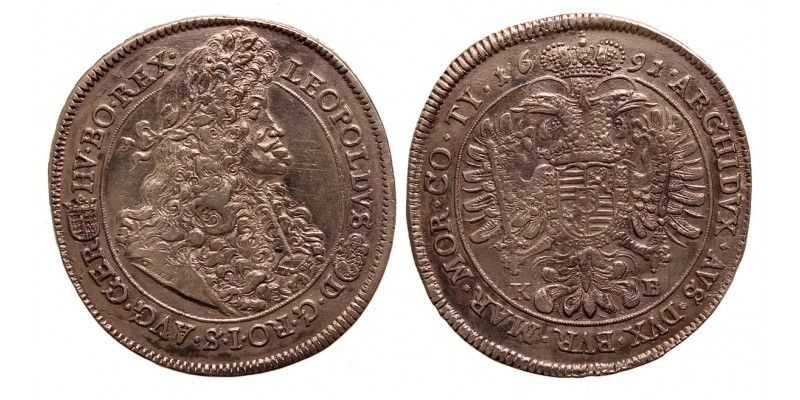 I.Lipót tallér 1691 KB
