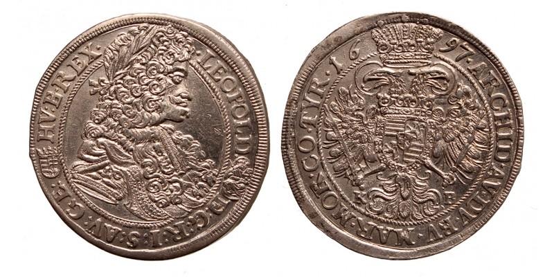 I.Lipót 1/2 tallér 1697 KB