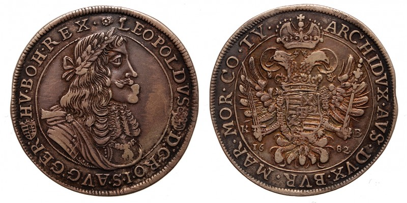 I.Lipót tallér 1682 KB