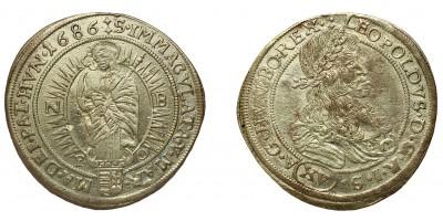 Leopold I. 15 krajczár 1686 NB/PO