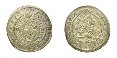 Leopold I. 15 krajczár 1696 NB