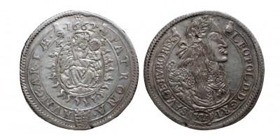 I.Lipót 15 krajcár 1662