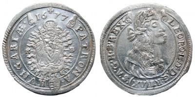 I.Lipót 15 krajcár 1677