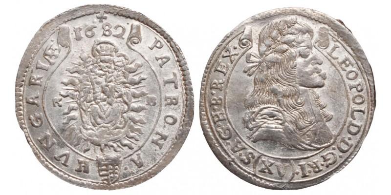 I.Lipót 15 krajcár 1682