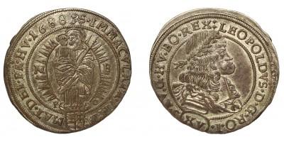 I.Lipót 15 krajczár 1688 NB/PO