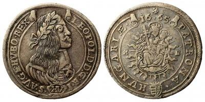 I.Lipót 15 krajcár 1665