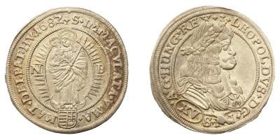 Leopold I. 15 krajczár 1682 NB
