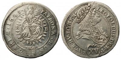 I. Lipót XV krajcár 1695 KB