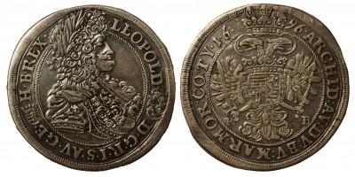 I.Lipót 1/2 tallér 1696 KB.