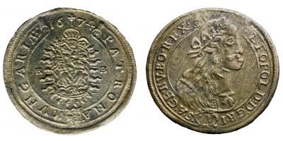 I.Lipót 15 krajcár 1674