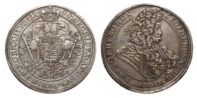I. Lipót tallér 1698 KB