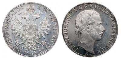 Vereinstaler 1865 B