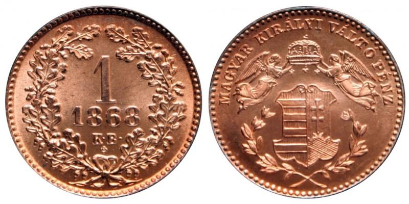 1 Krajcár 1868 Artex