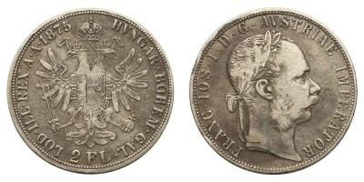 Ferenc József 2 Florin 1875