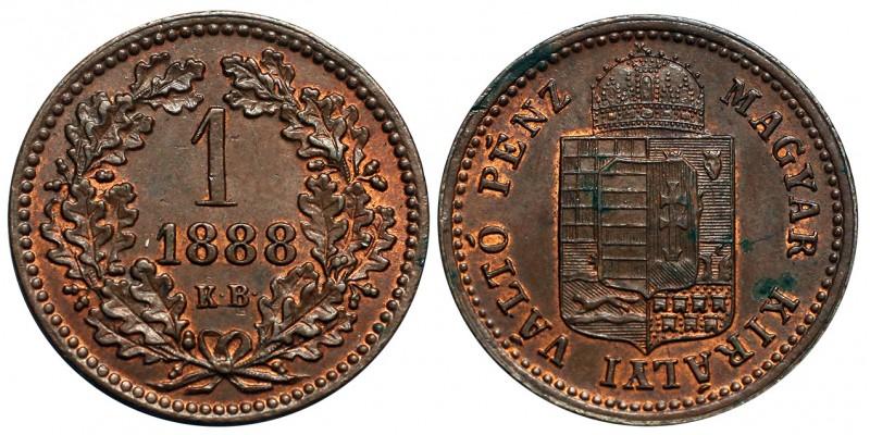 1 Krajcár 1888 KB