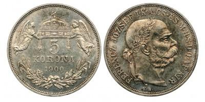 5 Korona 1900 KB