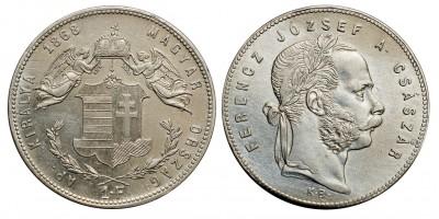 Ferenc József 1 Forint 1868 KB