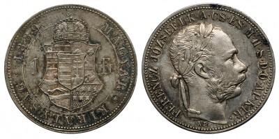Ferenc József forint 1889 KB