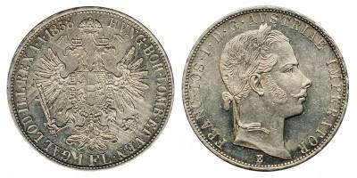 Ferenc József gulden 1858 E