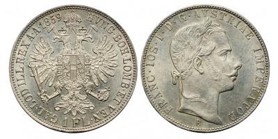 Ferenc József gulden 1859 B