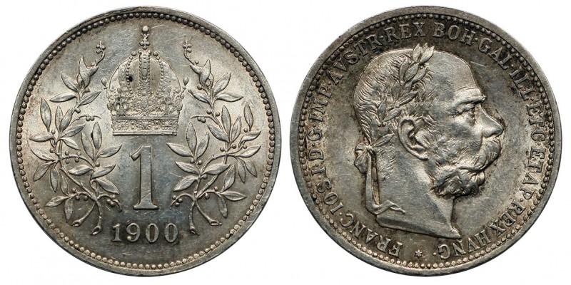 Ferenc József 1 korona 1900 vjn.