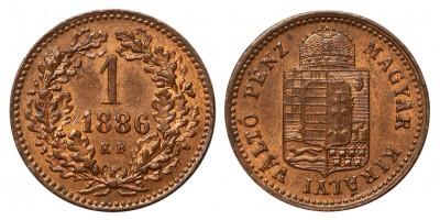 1 krajcár 1886 KB