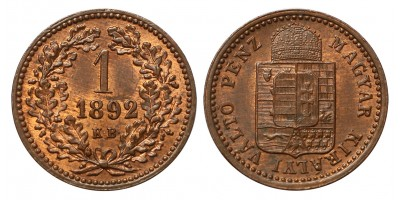 1 Krajcár 1892 KB