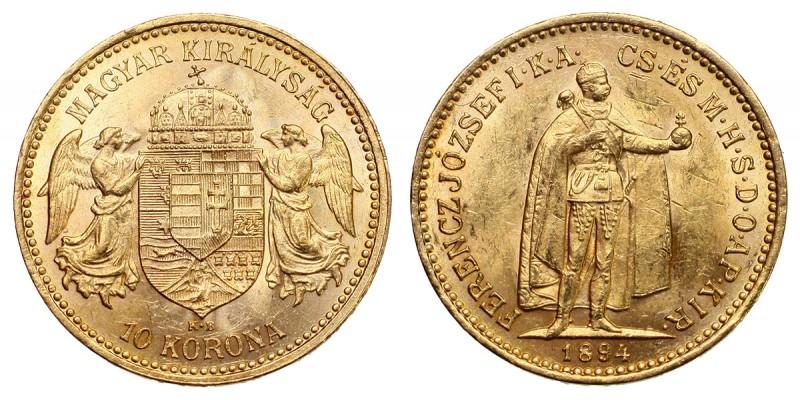 Ferenc József 10 korona 1894 KB.