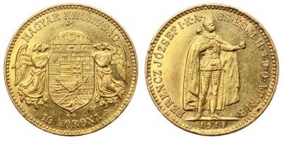 Ferenc József 10 korona 1910