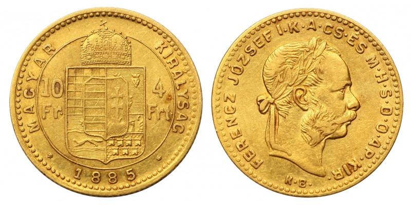 4 Forint 1885 KB