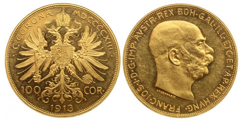 Ferenc József 100 korona 1913