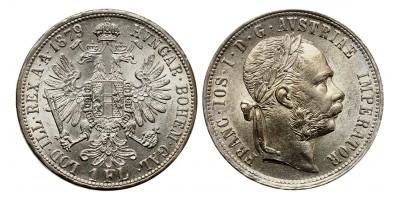 Ferenc József gulden 1879 vjn.