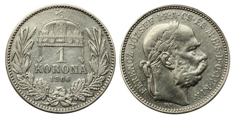 Ferenc József 1 korona 1906 KB.