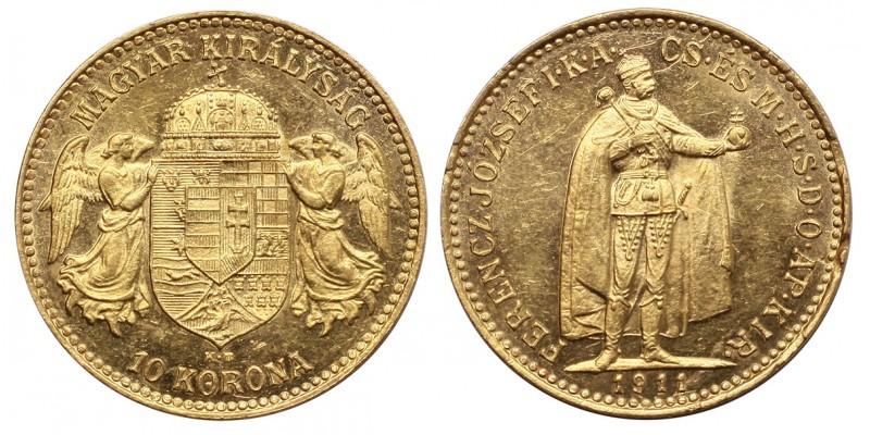 Ferenc József 10 korona 1911