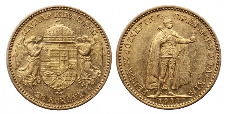 Ferenc József 20 korona 1900 KB