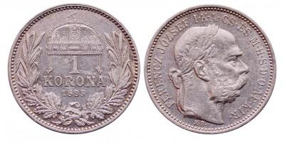 Ferenc József 1 korona 1895 KB