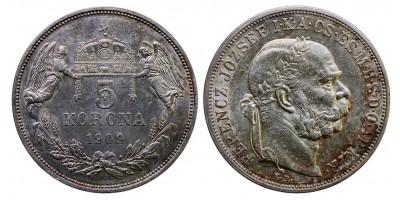 Ferenc József 5 Korona 1909
