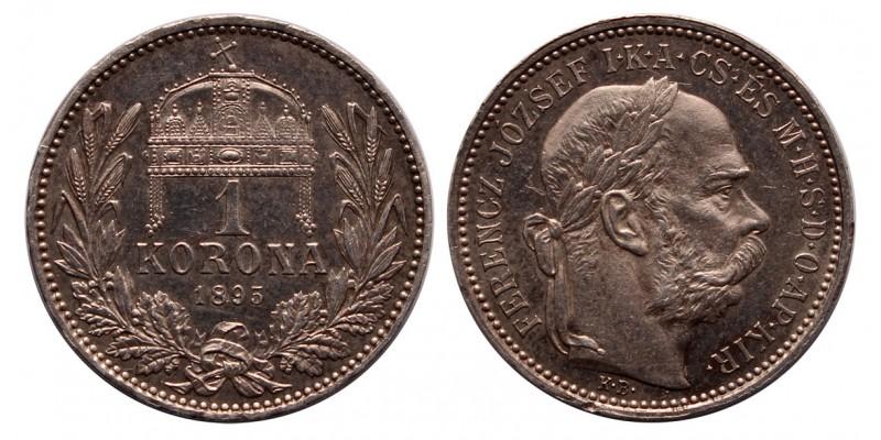 Ferenc József 1 Korona 1895 KB.