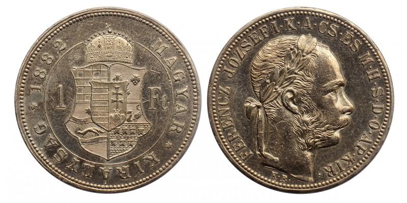 Ferenc József 1 forint 1882 KB.