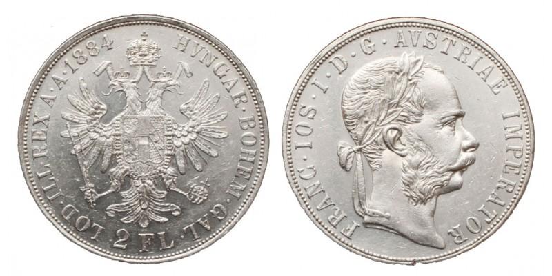 2 Forint 1884