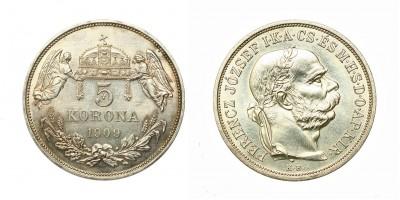 5 Korona 1909 KB