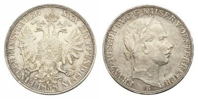 Ausztria Vereinsthaler 1858 B