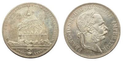 Ferenc József 2 Forint 1887 Kuttenberg