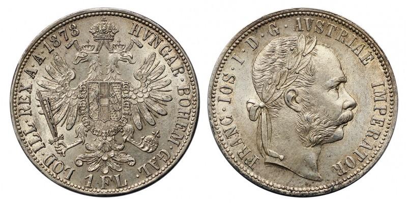 Ferenc József gulden 1878 vjn.