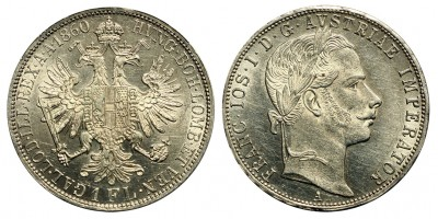 Ferenc József florin 1860 A