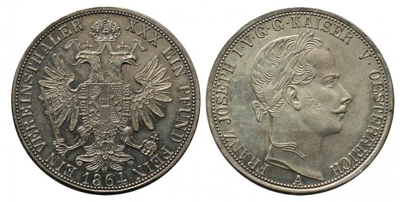 Ferenc József Vereinstaler 1864 A