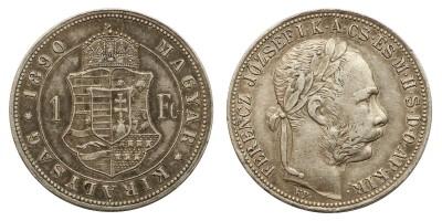 Ferenc József 1 Forint 1890