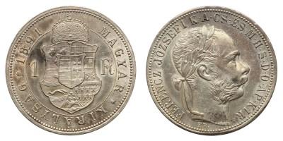 Ferenc József 1 Forint 1891