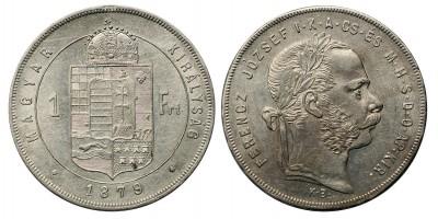 Ferenc József forint 1879 KB