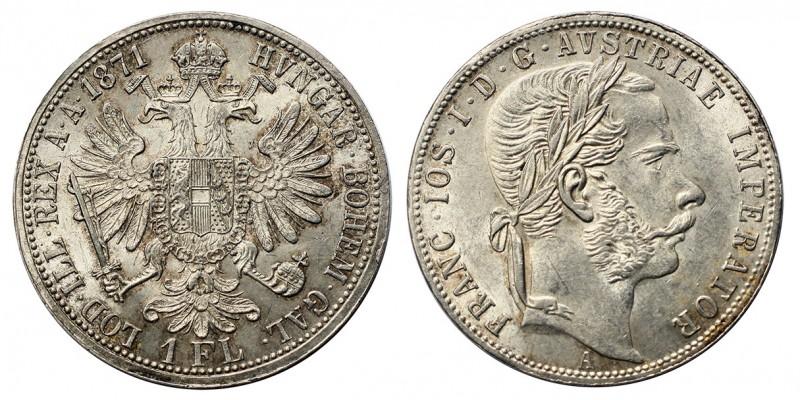 Ferenc József 1 florin 1871 A